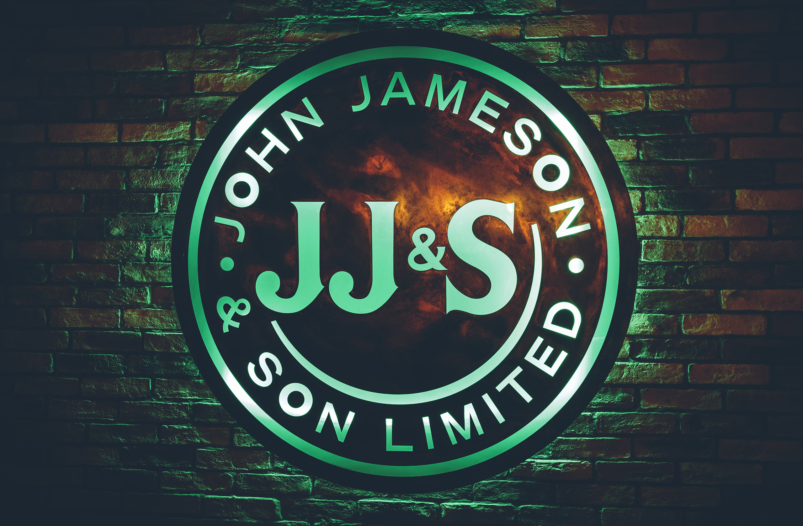 Jameson Whiskey Signage