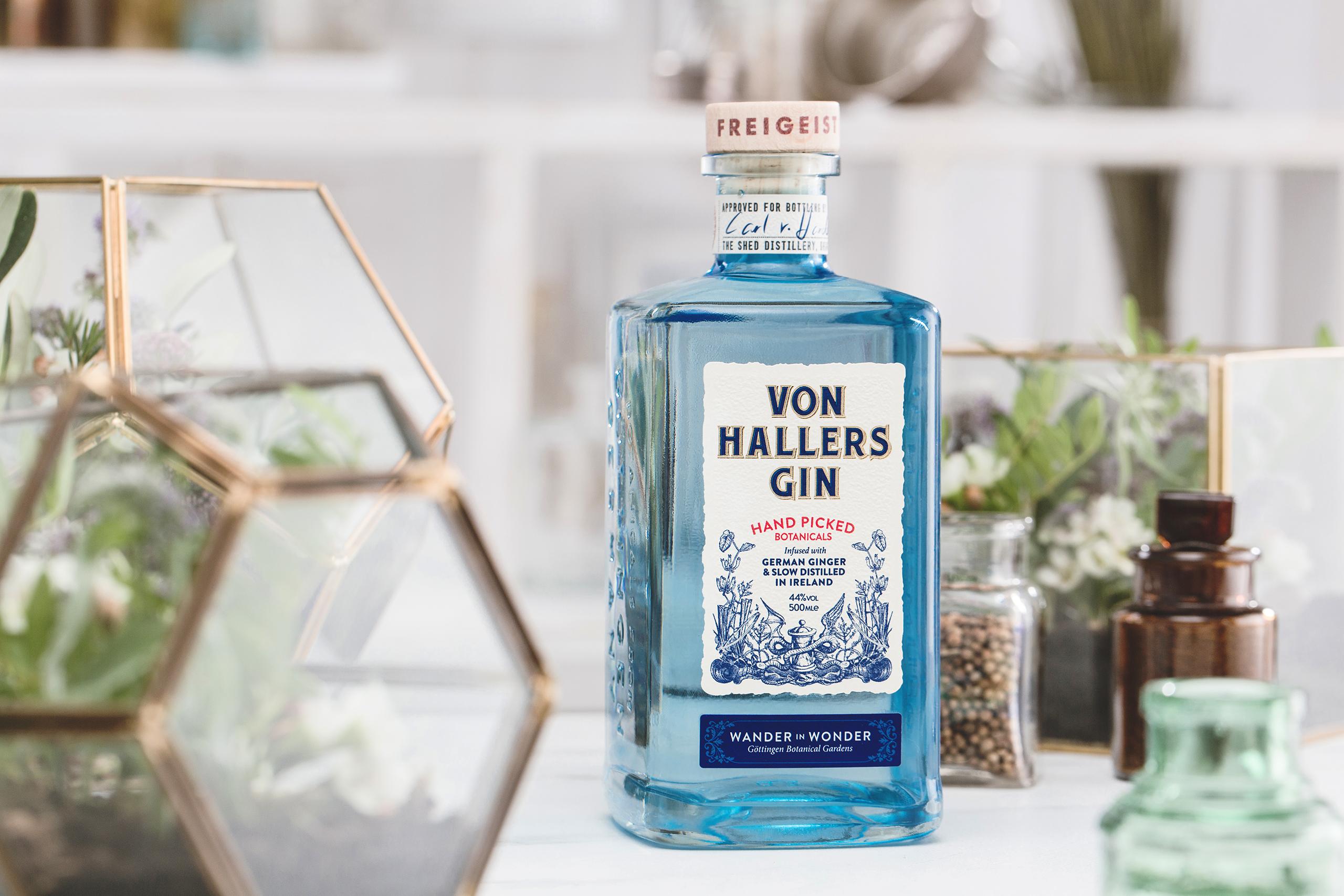 Von hallers gin for Garden shed gin